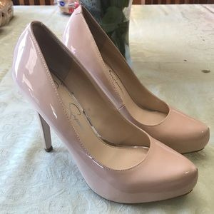 Jessica Simpson High Heels - Nude